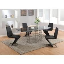 mid century modern dining table sets hayneedle