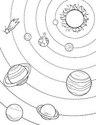 solar system coloring free download