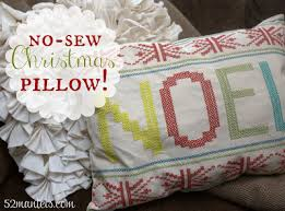 no sew placemat pillow homemade christmas gifts the happy