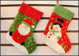 christmas socks 26cm christmas socks santa claus snowman embroidery kids