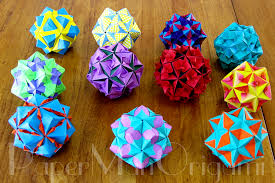 tomoko fuse floral origami globes collection table copy cool