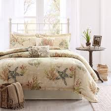 coral bedding king harbor house summer beach 4 piece comforter