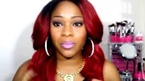 red highlights for black women hair red hair color ideas on