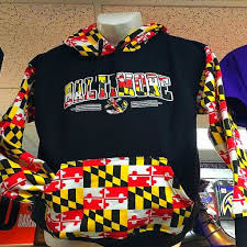 Maryland Flag Vinyl Raven Zone Baltimore U0027s 1 Fanshop For Officially Licensed