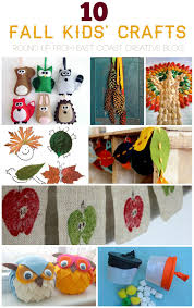 10 fall craft ideas a round up from east coast creative blog