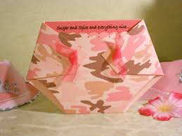 pink camo baby shower ideas cimvitation