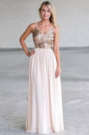 cream and gold sequin maxi dress cute formal maxi prom dress lily
