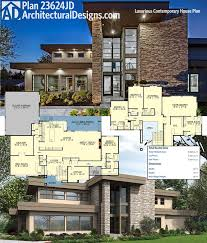 modern contemporary house floor plans contemporary house plans best floor one story first plan of the