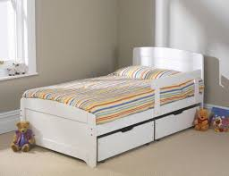 fantastical childrens white bed frames girls small double bed
