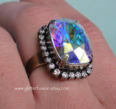 big crystal rings images 152 best big crystal rings images jpg