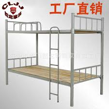 tiechuang sale cheap double iron bed student bunk bed metal frame