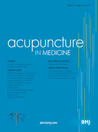 study of acupuncture for low acupuncture treatment of chronic low back reverses an