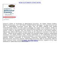 pdf75 pdf mathematical economics economics