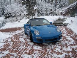 porsche winter having a porsche convertible effect the winter driving