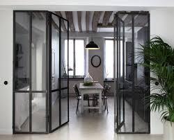 separation de cuisine en verre impressionnant separation vitree entre cuisine et salon 1