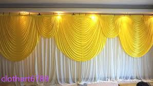 Wedding Backdrop Accessories 3m 6m Backdrop With Swag Of Wedding Backcloth With Swags Party