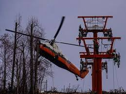 Chair Lift In Gatlinburg Tn New Sky Lift Parts Fly Into Gatlinburg To Reopen Soon