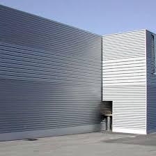 capannone in lamiera rivestimento padiglione in lamiera ondulata di alluminio fiera