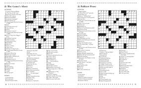 easy crossword puzzles about movies entertainment crosswords imagine publishing