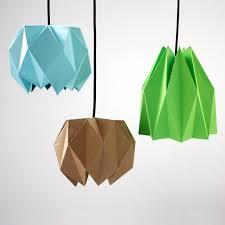 diy origami lampshade design and paper