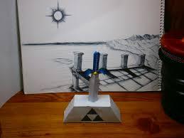 Master Sword Papercraft - master sword papercraft by plombuk on deviantart
