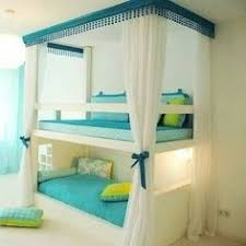 Loft Bed With Reading Nook Bunks With Curtains On The Set Of - Teenage bunk beds
