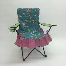 amazon com shabby chic glamour camping chair slip cover floral