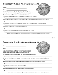 education world geography a to z all around europe 3