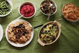 menu for a vegan thanksgiving treehugger