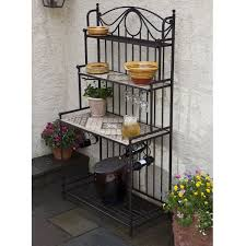 Bakers Rack With Wine Glass Holder 10 Best Classic Iron Shelves Images On Pinterest Bakers Rack