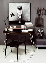 Chair Office Design Ideas Black And White Decorating Ideas For Home Office Designs