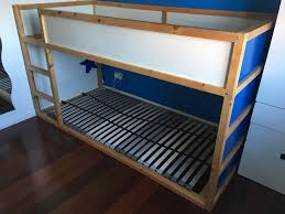 ikea kura reversible bed u0026 lönset slatted bed base in bowerhill