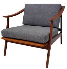 mid century modern teak lounge chair sold inabstracto
