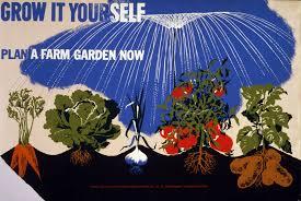 vegetable garden vintage poster free stock photo public domain
