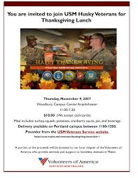 thanksgiving fundraiser veterans services of