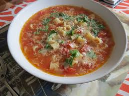Italian Soup by Italian Tomato And Pasta Soup The Lit Kitchen