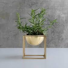 by lassen kubus bowl brass
