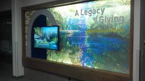 rcbawards donor recognition interactive video donor wall