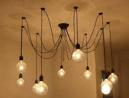 3 Bulb Ceiling Light Fixture Loft American Vintage Pendant Lights Restaurant Bedroom Bar L