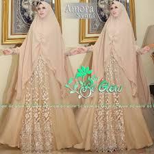 wedding dress syari amora syar i by be glow melody fashion
