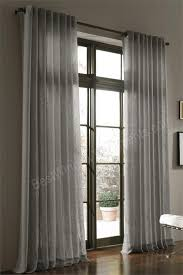amazing window treatment ideas with 108 inch curtains and floor to ceiling widnows also grommet curtain