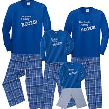 personalized pajamas for family matching personalized