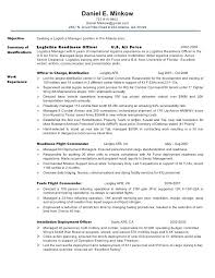 air force resume samples cover letter military resume samples