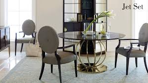 black dining room sets jet set dining room items bernhardt