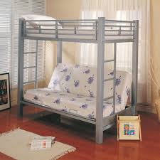 Full Over Futon Bunk Bed Columbia Full Over Full Stairway Bunk - Futon bunk bed with mattresses