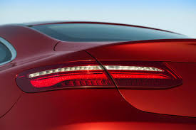2018 mercedes benz e class coupe red taillight photos first