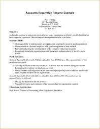 resume example for customer service accounts receivable resume sample best business template accounts receivable resume examples 2013 sample customer service intended for accounts receivable resume sample 3319