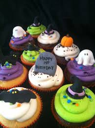 Halloween Mini Cakes by A Little Something Sweet November 2012