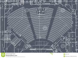 Church Floor Plans Free by Auditorium Seats Plan Royalty Free Stock Image Image 6916746