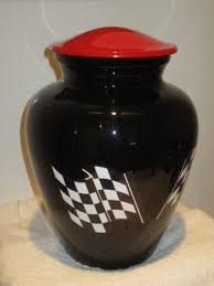 custom urns racing flag cremation urn custom urns r us http www